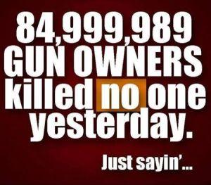 gun owners no shoot